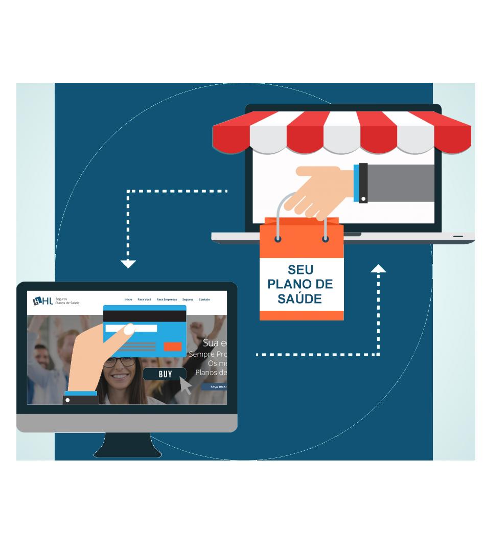 Vendas online de planos de saúde