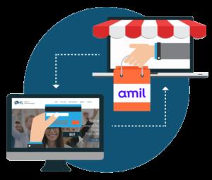 Vendas online plano de saúde Amil